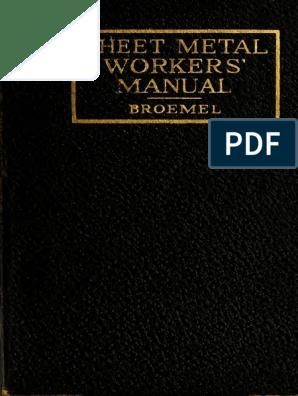 Sheet Metalworker 00 Bro e | Sheet Metal | Scissors