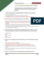 CCNA 4 Chapter 2 v5.0 Exam Answers 2015 100