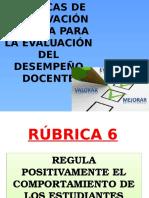 RUBRICA 6