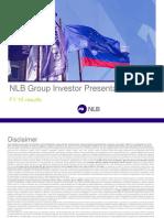 Predstavitev NLB
