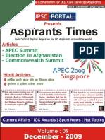 Aspirants Times Magazine Vol9