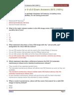CCNA 3 Chapter 9 v5.0 Exam Answers 2015 100