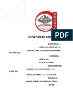 Asambleas. Generalidades..s.a(d. Mercantil)