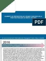 ELEMENTS DE PREPARATION AUX  CONCOURS DE LA FONCTION PUBLIQUE MAROC 2015-2016.pptx