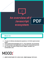 An Overview of the Javascript Ecosystem