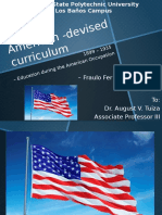 American Devised Curriculum by