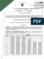 Decreto No. 238 Del 2016 - Salario