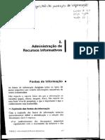 Administração de Recursos Informativos