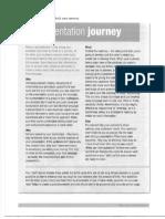 The Presentation Journey