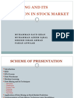 Data Mining and Its Application in Stock Market