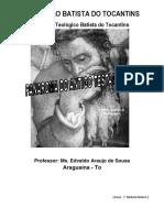 ANTIGO TESTAMENTO 3 - Livros Poéticos e Proféticos Apostila Pronta