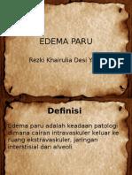 Edema Paru