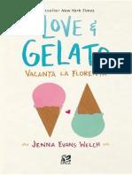 Jenna Evans Welch - Love&Gelato. Vacanta La Florenta (1)mm m