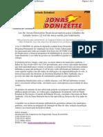 Lei de Jonas Donizette financia projetos para cidades do Estado terem 12 m2 de área verde por habitante
