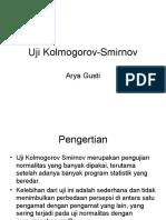 Uji Kolmogorov 89 X.ppt