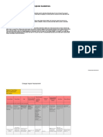 Change Impact Assessment Template and Guidelines