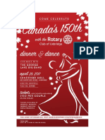 Canada's 150th with the Rotary Club of Uxbridge