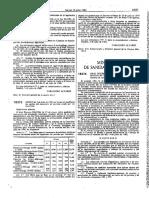 Real Decreto 1418.1986, Funciones Del Ministerio de Sanidad y Consumo en Materia de Sanidad Ext.