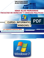 SESION 01 Entorno Windows 7