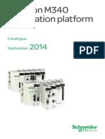 IDPAC Modicon M340 Catalogues en 2014