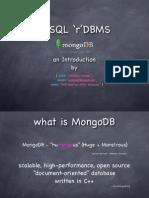 mongoDB-PHPMeetup2010