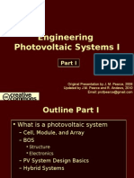 Engineering Photovoltaic Systems 1- 2010