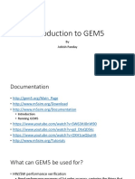 Introduction to GEM5
