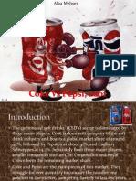 Coke vs Pepsi, 2001