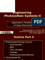 Engineering Photovoltaic Systems 2