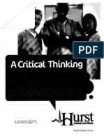 Hurst Review Critical Thinking Part 1 1