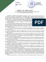 Raport Specialitate Pr. HCL Aprobare Taxe Si Impozite Locale 2018