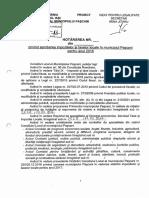Proiect HCL Aprobare Taxe Si Impozite Locale 2018
