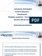 Sesión 3  Resoluciones anticipadas, Control aduanero, riesgo y fiscalización, Medidas cautelares y procedimiento para su adopción..pdf