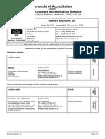 0809 UKAS Calibration Schedule