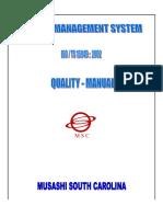TS Quality Manual
