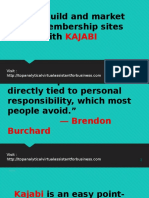 Easily Build Your Membership Sites with KAJABI