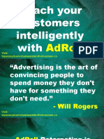 Reach your customers intelligently with AdRoll