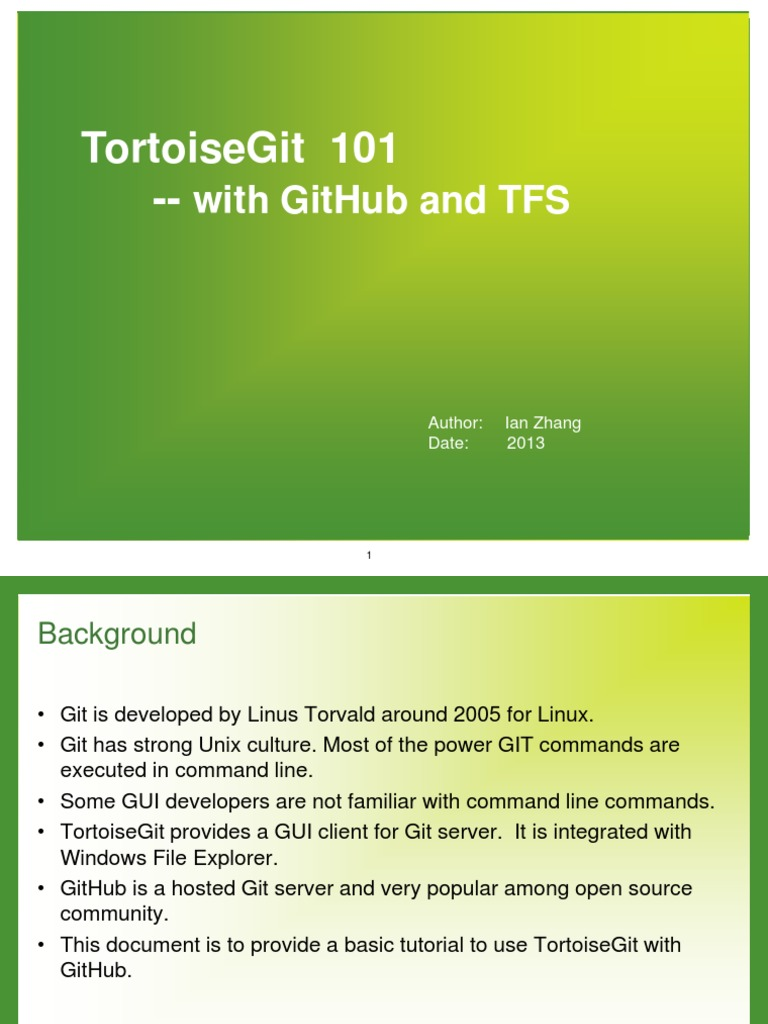 Tortoise Git | Computer Architecture | System Software