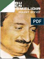 Bülent Ecevit - Bu Düzen Değişmelidir.pdf