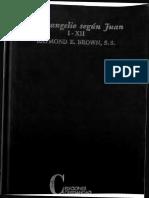 Brown, Raymond, El Evangelio Segun Juan 01
