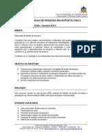 Programa de Métodos II - 2016