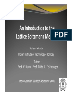 An Introduction to the Lattice Boltzmann Method