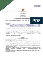 Legea Cu Privire La Geodezie, Cartografie Şi Geoinformatică 778 Din 271201
