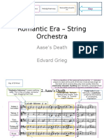 Romantic Era – String Orchestra