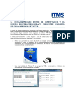 Emparejamiento Del Bluetooth Con Equipo Electrocardiógrafo Cardiette Microtel BT