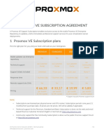 Proxmox VE Subscription Agreement V3.2