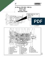 Aisin Warner 450-43LE 1998-Up -- Nissan UD -- Isuzu RNJ -- Mitsubishi FUSO 94628 Transmission