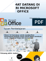 Selamat Datang Di Materi Microsoft Office