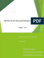 PROYECTO DE VIDA SUSTENTADO EN VALORES