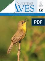 Revista Nuestras Aves N59